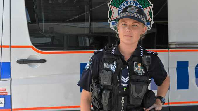 Senior Constable Victoria Hubbard is seeking public assistance to recover stolen jewellery and firearms.