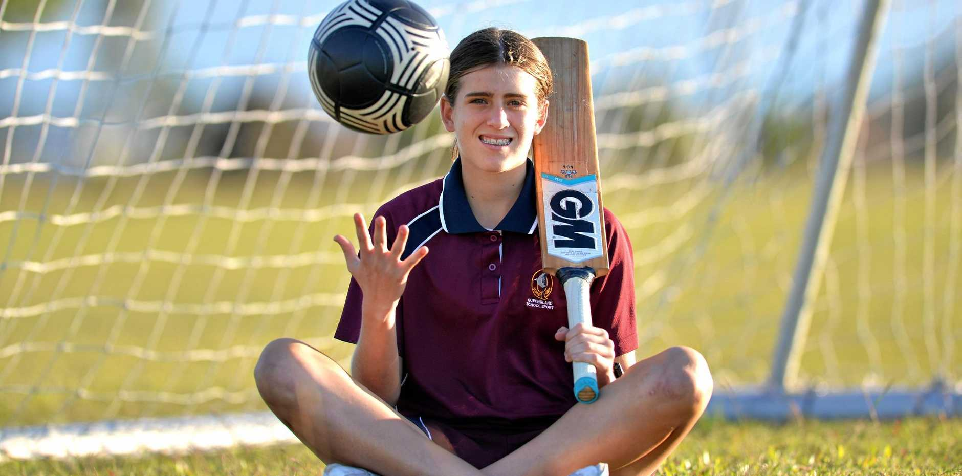 Pioneer Valley's Ryleigh Wotherspoon is set to become the first female in Mackay Cricket history to play first grade.