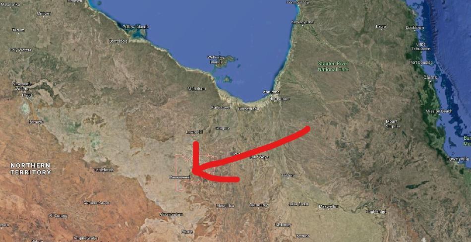 Camooweal, sometimes referred to as Australia's