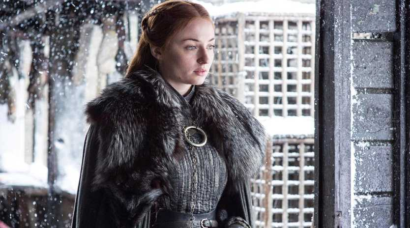 Sophie Turner was asked not to wash her hair while on Game of Thrones.