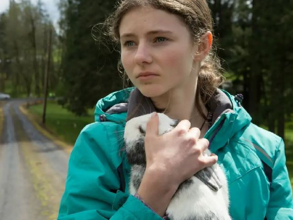 Thomasin Harcourt McKenzie in Leave No Trace. Picture: Supplied