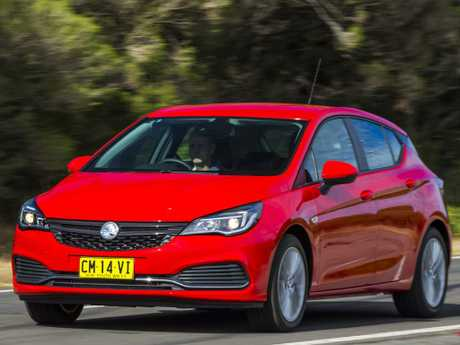 Holden Astra: Base model starts at $21K