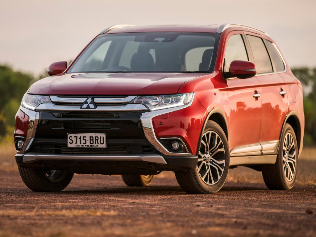 Mitsubishi Outlander: Base model at $30K is about $5000 off