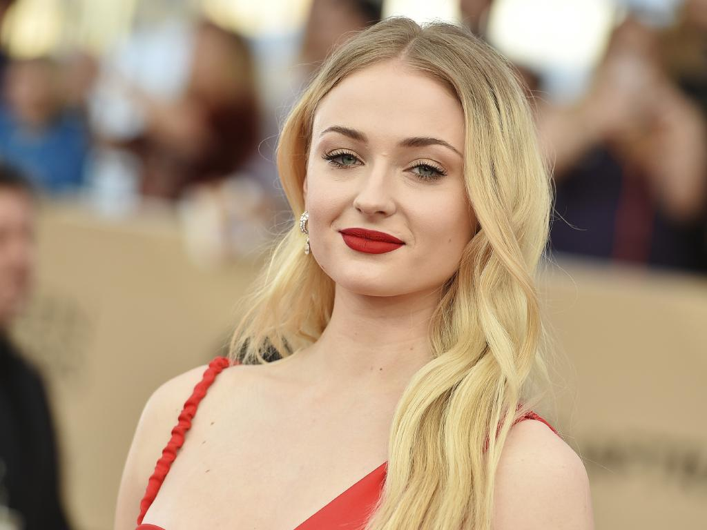 Sophie Turner is naturally blonde. Picture: Jordan Strauss/Invision/AP