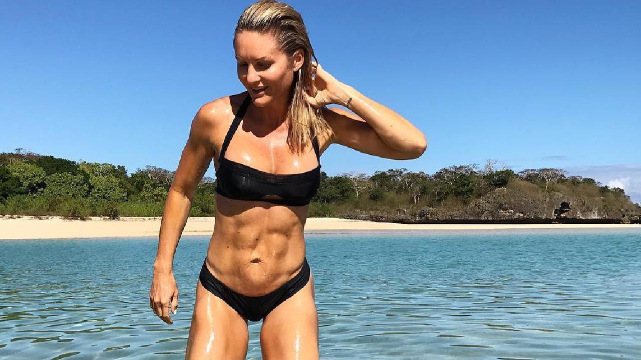 Belinda has revealed how she earned her incredible abs. Picture: Belinda.n.x