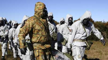 Australia could be ill prepared for biological warfare. Picture: Department of Defence