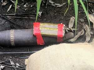 Unexploded WWII projectile found on walking track in NT