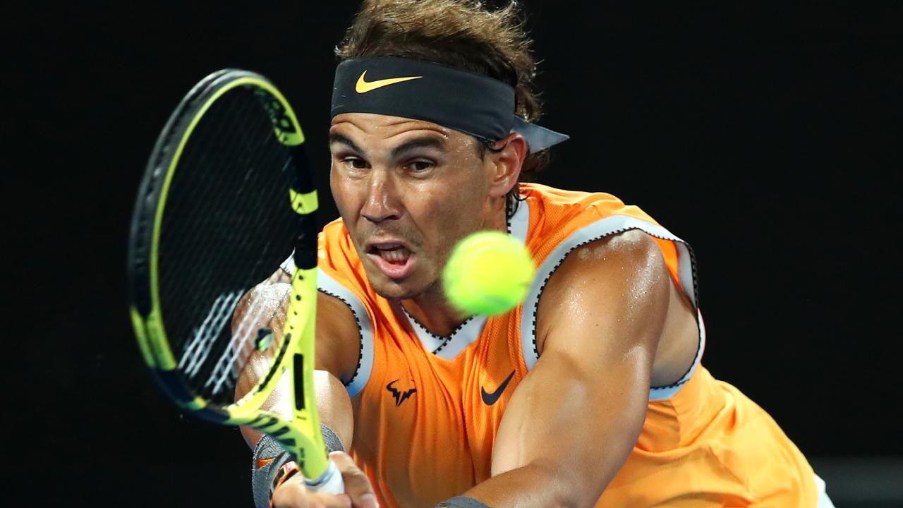 Rafael Nadal is ready for Alex de Minaur. Picture: Getty Images