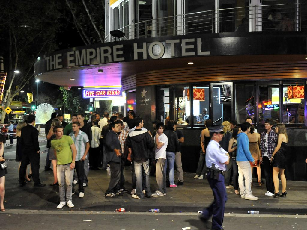 2008: Remember the gold old days? Even after lockout laws were introduced Kings Cross was still busy at The Empire Hotel at 3.48am.