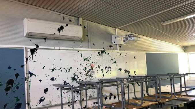 Shocking vandalism act hits school hard before new term