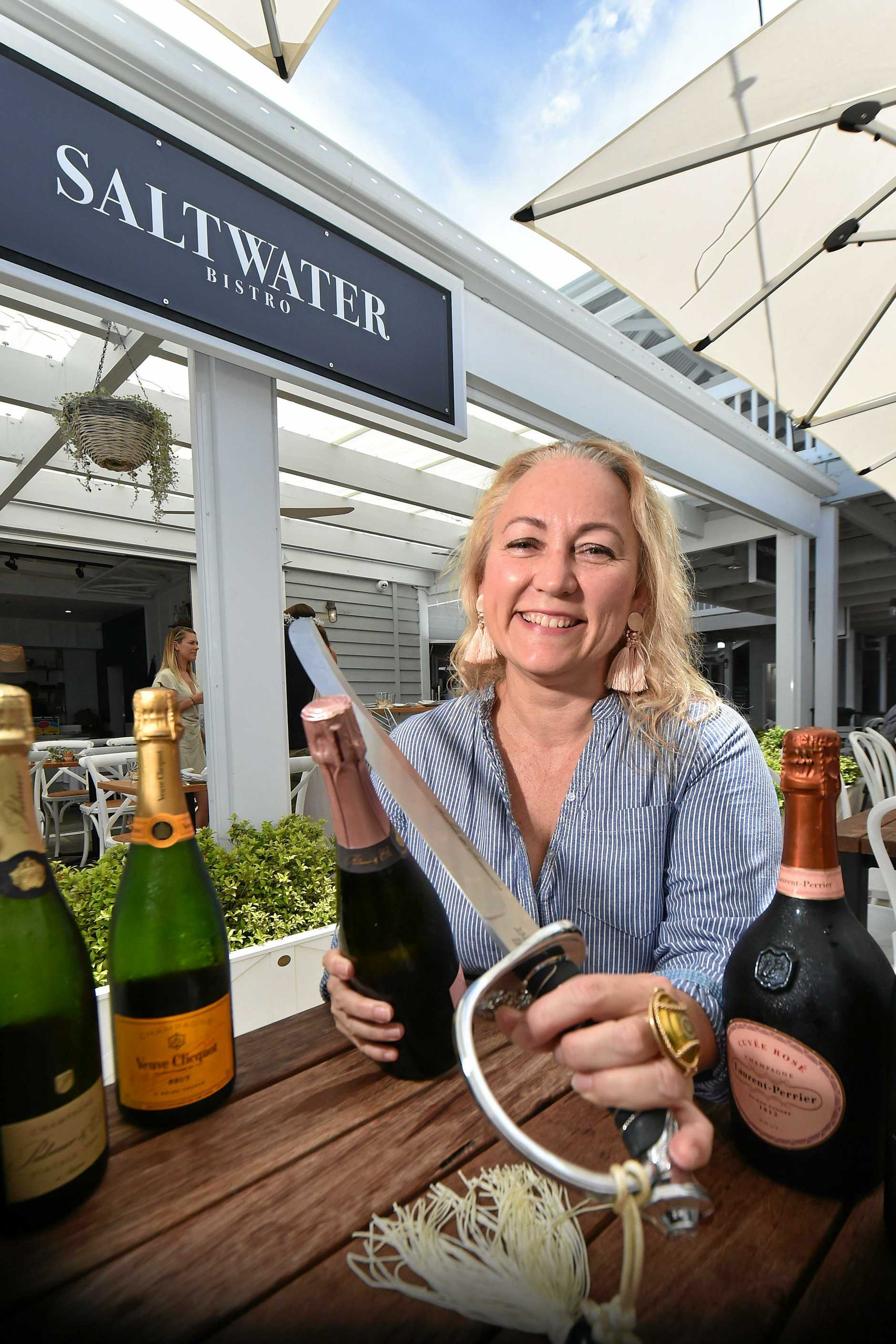 Coast champagne connoisseur Rebecca Grisman will be holding the first champagne masterclass on the Coast for the year.