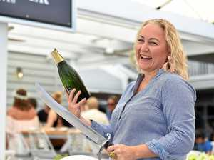 Allergic reaction leads to international champagne career