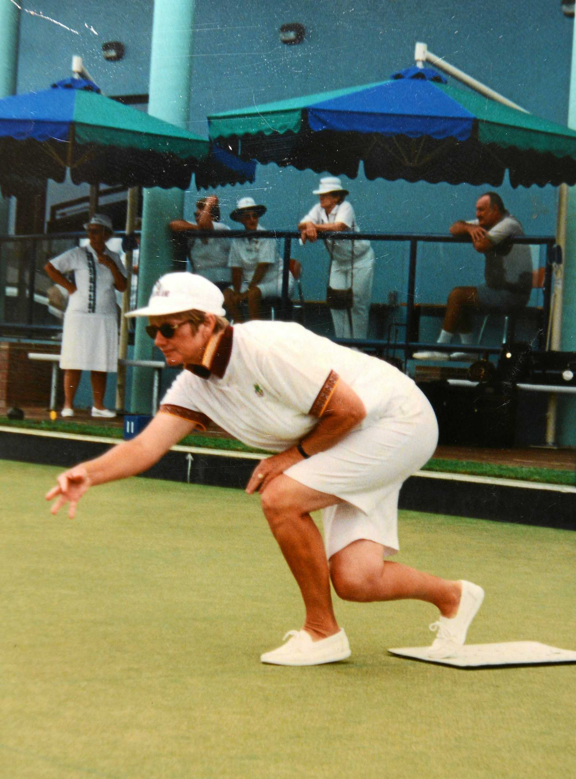 THE BEST:  Jenny Harragon in action in her hey day. Photo Craig Warhurst / The Gympie Times