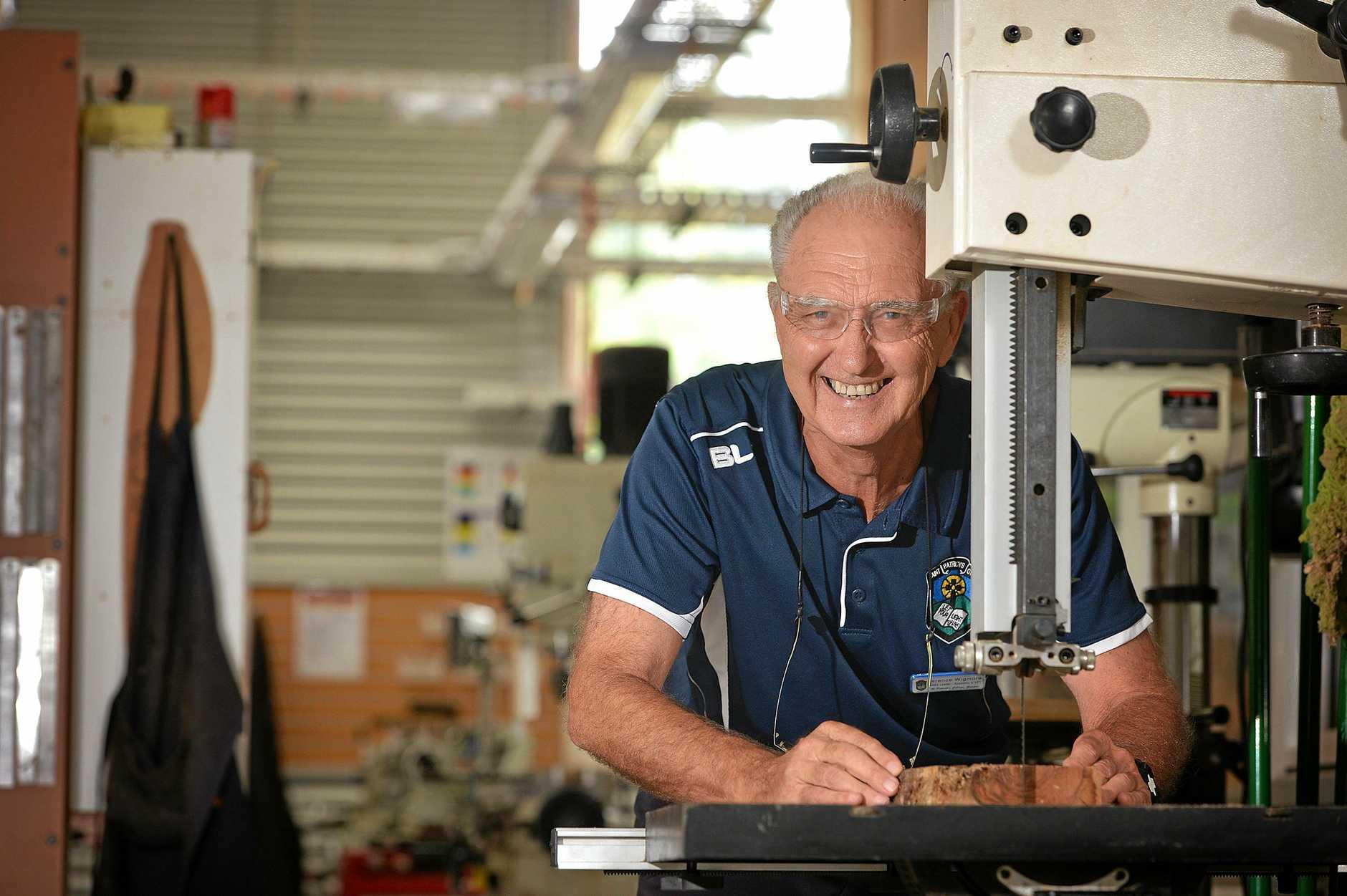 Mr Terry Wigmore (St Patrick's College Gympie, Teacher) Photo Renee Albrecht/Gympie Times
