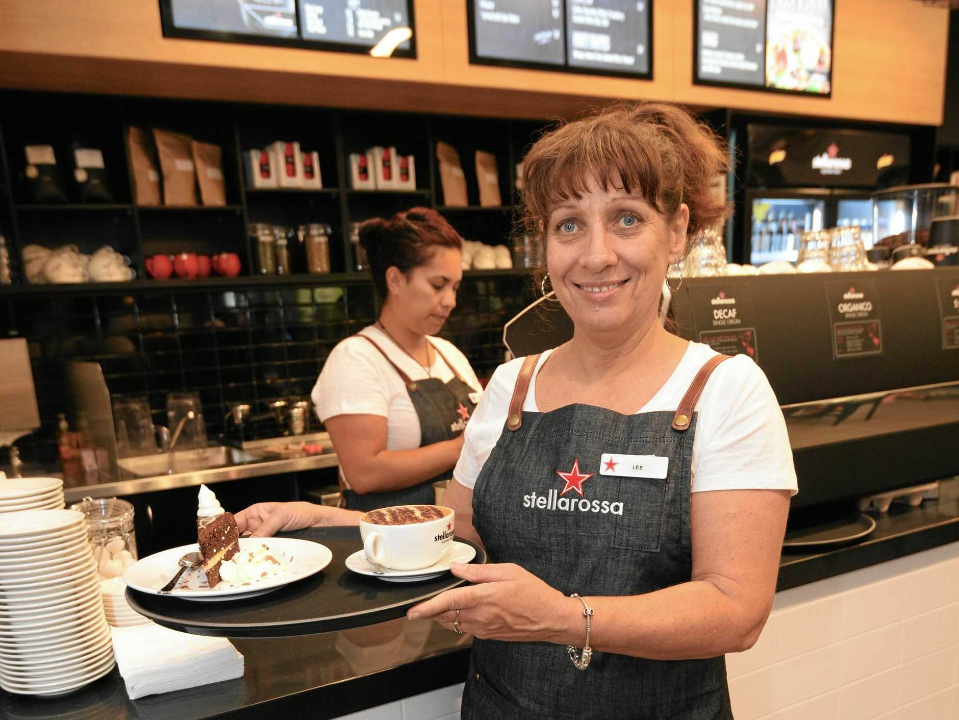 Cafe franchise Stellarossa is looking for a new Gympie owner.