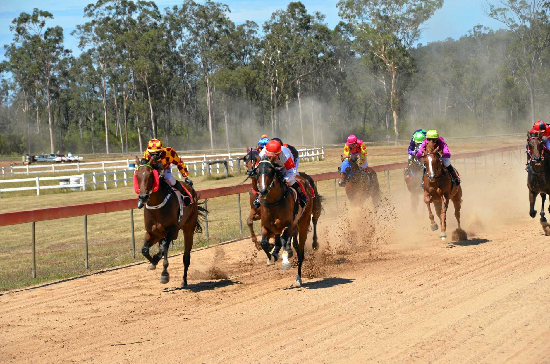 The Gayndah to Wondai Open Handicap at the Wondai Races