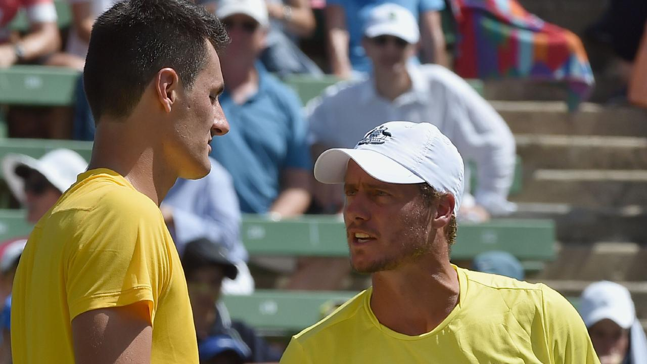 Bernard Tomic and Lleyton Hewitt's feud has been a terrible look for tennis.