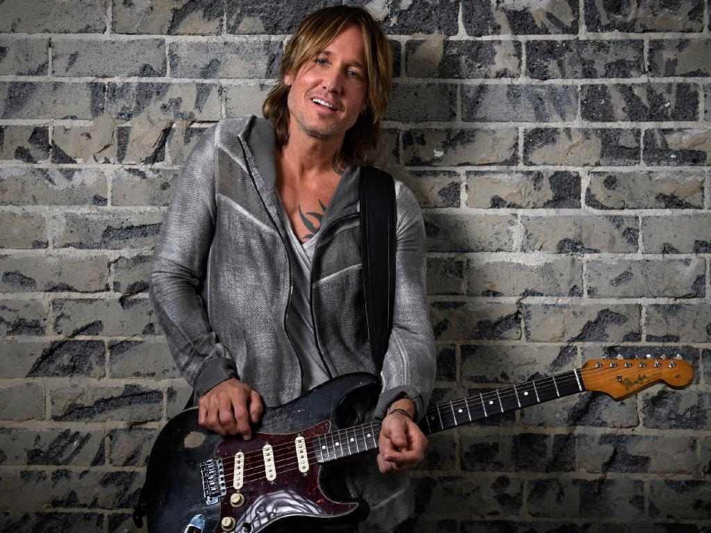 Keith Urban's Graffiti U World Tour plays Brisbane on January 31, February 1 & 2 at Brisbane Entertainment Centre, Boondall.. (AAP Image/Dan Himbrechts)