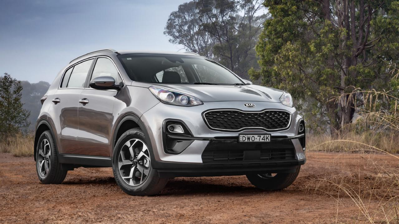 The Sportage's diesel engine will make light work of a camper trailer.