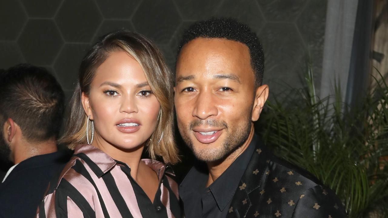 Chrissy Teigen and John Legend appeared on Watch What Happens Live this week. Picture: Jerritt Clark/Getty Images
