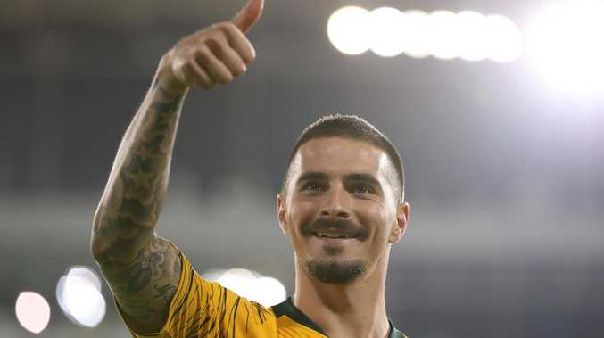 Jamie Maclaren is relishing his Asian Cup campaign with the Socceroos. Picture: Getty Images