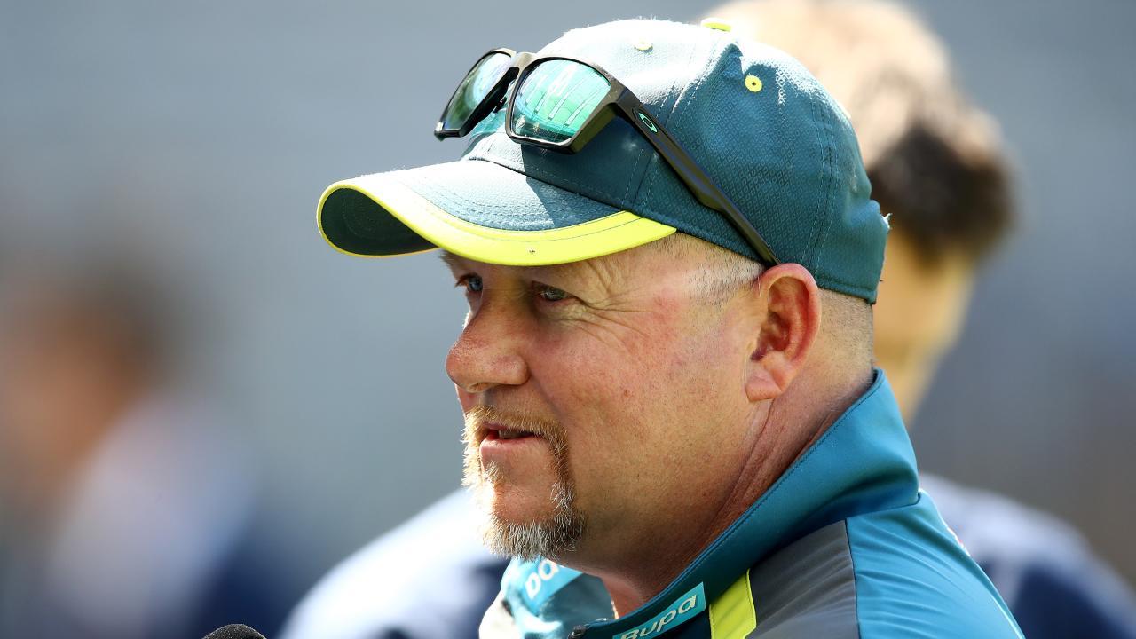 Australia's bowling coach David Saker. Picture: Getty Images