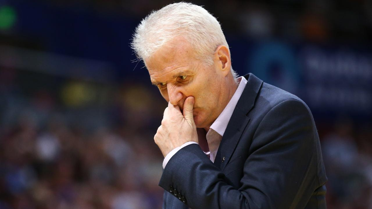 Sydney Kings coach Andrew Gaze has some work to do after Saturday's result. Picture: AAP
