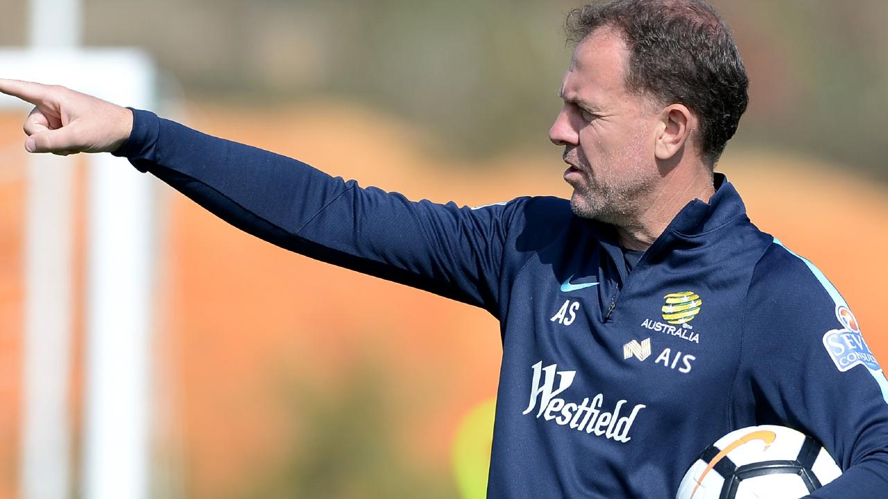 The Matildas progressed far under coach Alen Stajcic. Picture: Getty Images