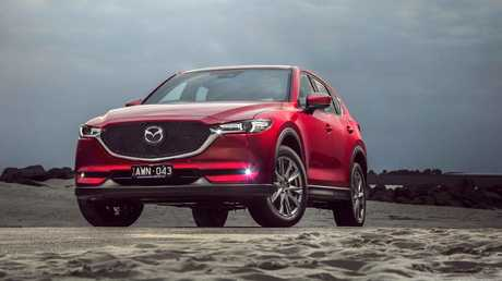 The Mazda CX-5 is one of the benchmark road-going SUVs.
