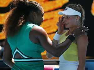 Don't cry: Serena all class with distraught opponent