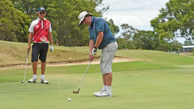 Maryborough Golf open day - Steve Cameron.