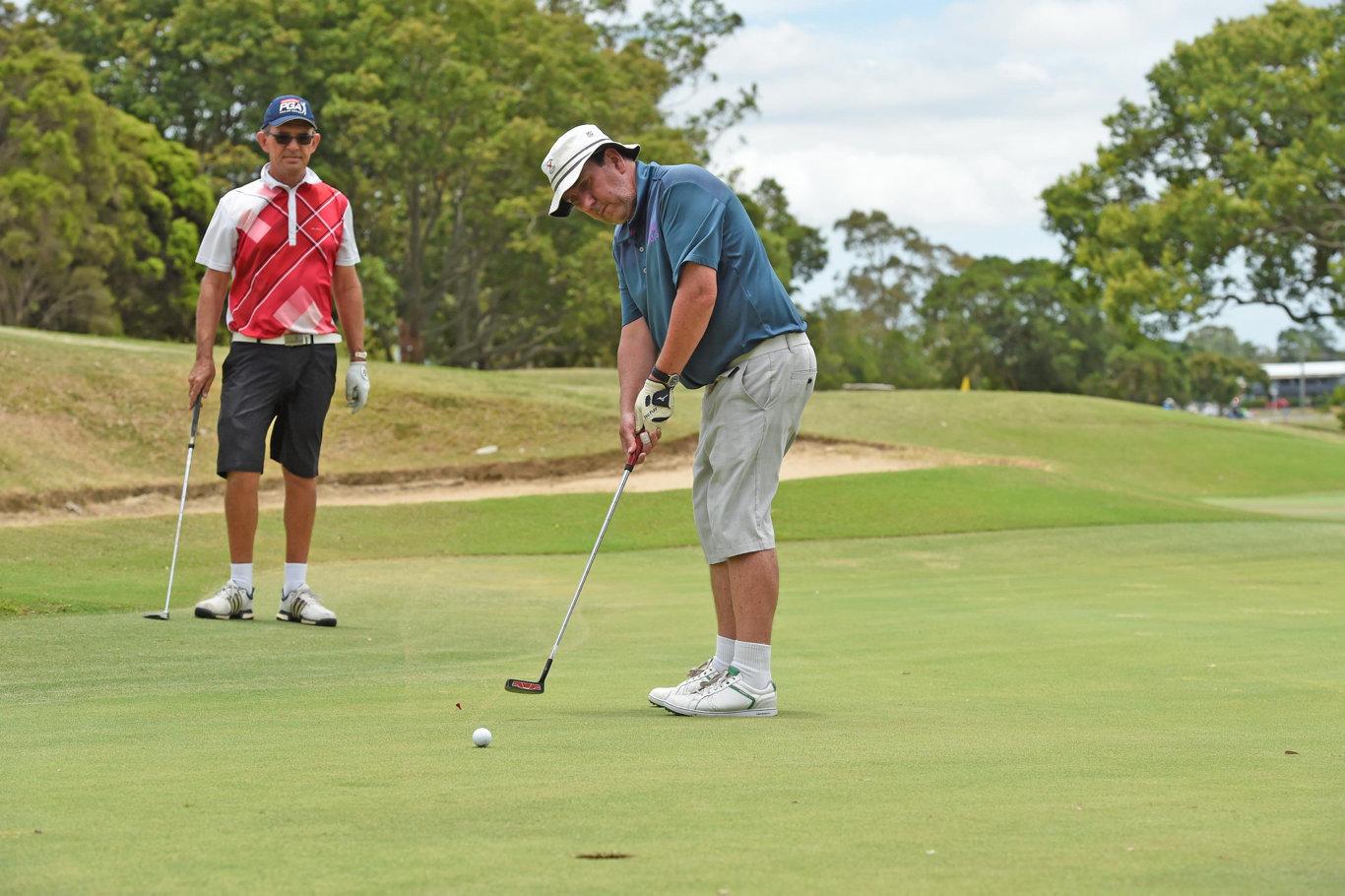 Maryborough Golf open day - Steve Cameron.
