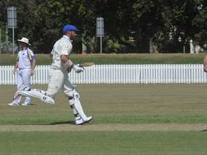 Brandon Honeybrook celebrated a fine century in the