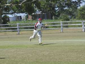 Beau Severill from the Brothers cricket club playing