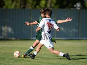 Soccer: Frenchville's Beau Saunders.