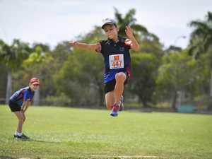Flynn Maxwell - U8 long jump.