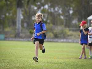 Laithe Stevens - U8 long jump.