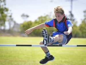 Declan Babrowski - U11 high jump.