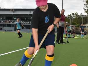 Olympians Jodie Kenny and Mark Knowles host a hockey