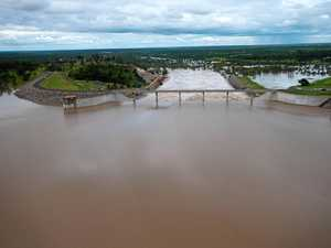 Towns on water restrictions as dam level drops to record low
