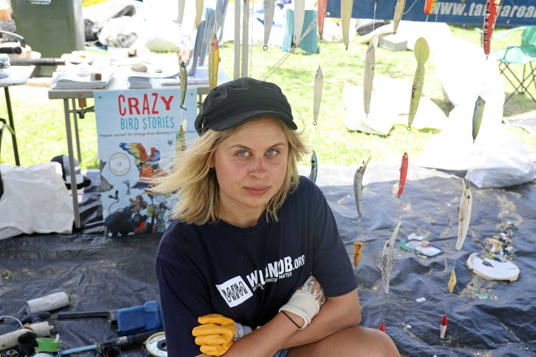 Wild Mob Youth Ambassador Waimarie Brand is passionate about making sure plastic waste does no harm to the ocean.