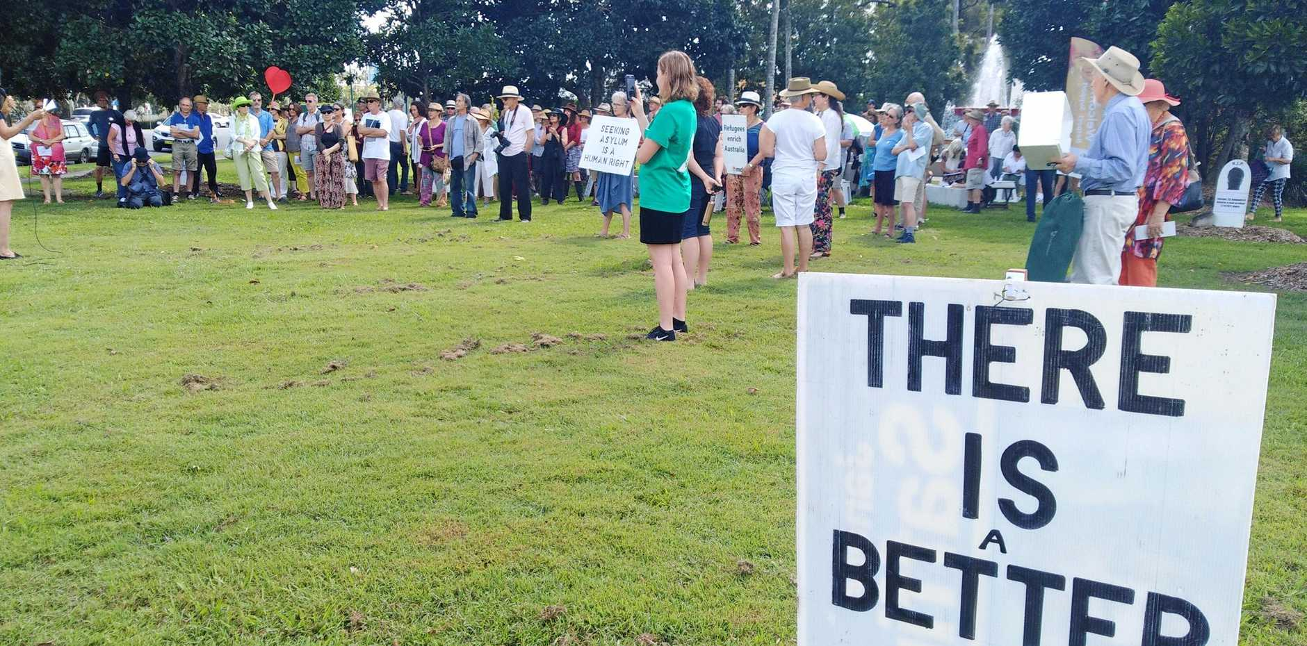Columnist Betty Lowis weighs in on the refugee and migrant issue.
