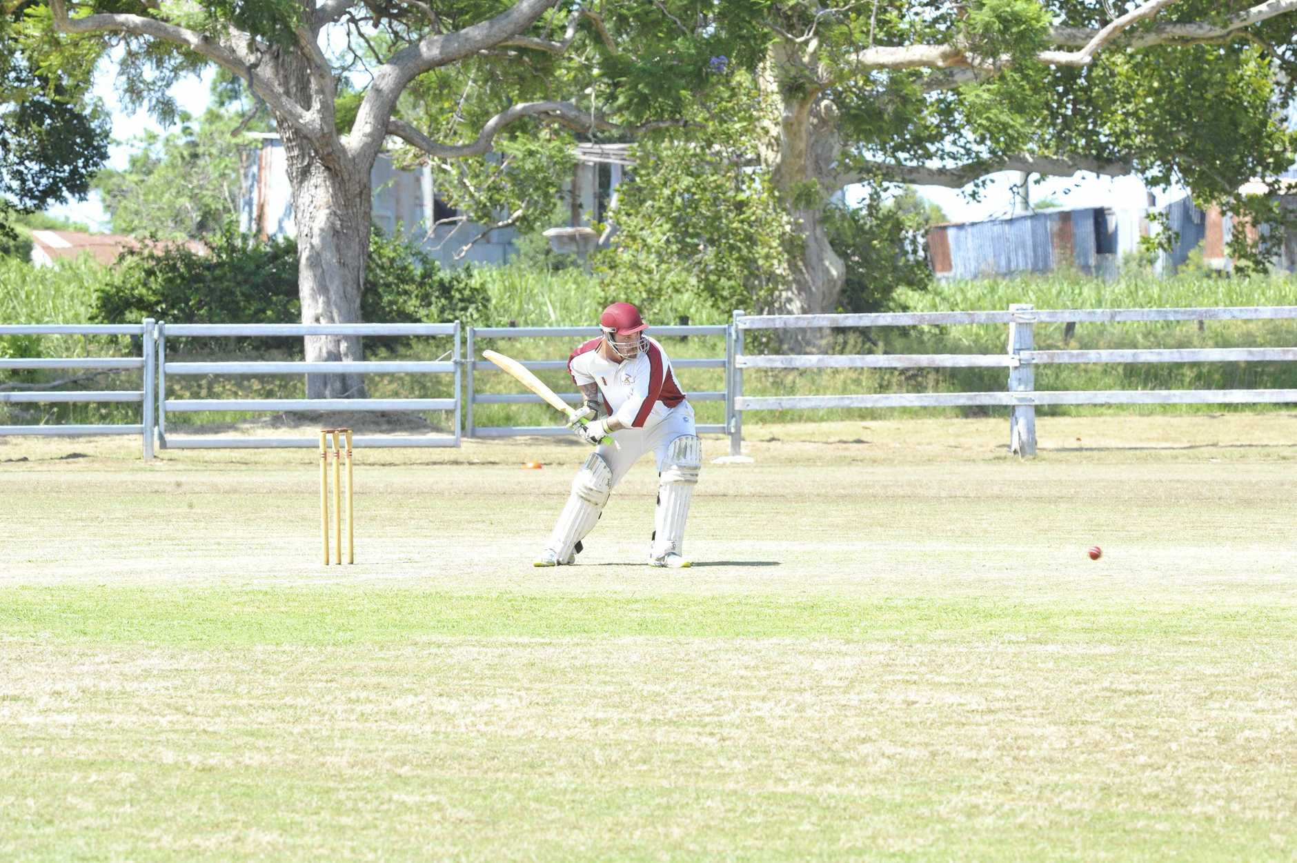 Beau Severill from the Brothers cricket club playing against South Services
