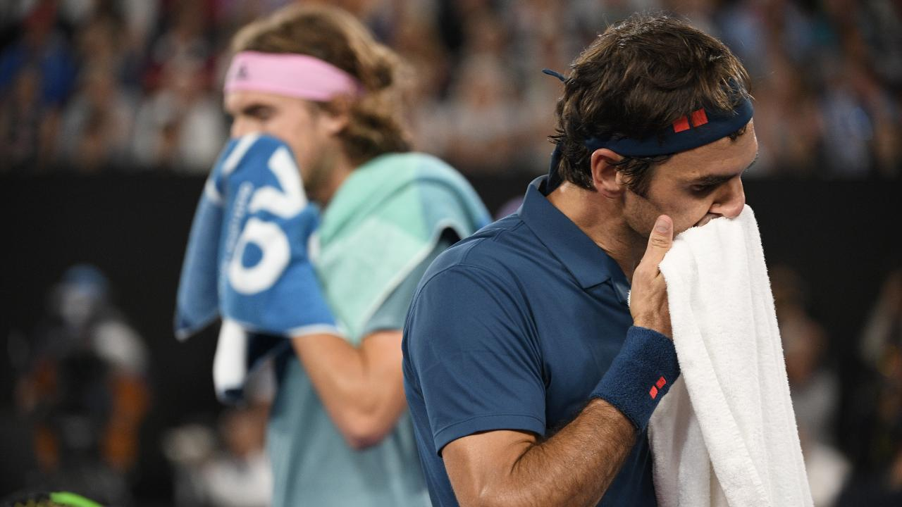 Tsitsipas made Federer feel the heat.