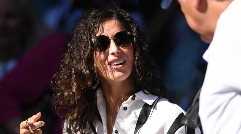Xisca Perello, girlfriend of Rafael Nadal, is seen in the crowd during the match between Rafael Nadal of Spain and Tomas Berdych of the Czech Republic during day seven of the Australian Open tennis tournament in Melbourne, Sunday, January 20, 2019. (AAP Image/Lukas Coch) NO ARCHIVING, EDITORIAL USE ONLY