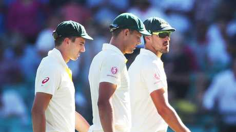 Australia will rely heavily on their three quicks. Picture by Phil Hillyard.