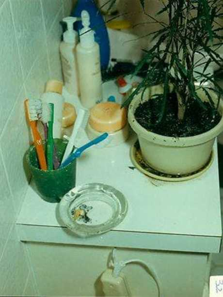 The killer is believed to have smoked a few cigarettes before washing their bloodstained hands in the bathroom sink. Picture: HWT Library