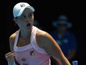 Brave Barty edges Sharapova for QF berth