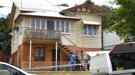 The 33-year-old man was discovered at his Kelvin Grove apartment by his sister. Picture: AAP image, John Gass.