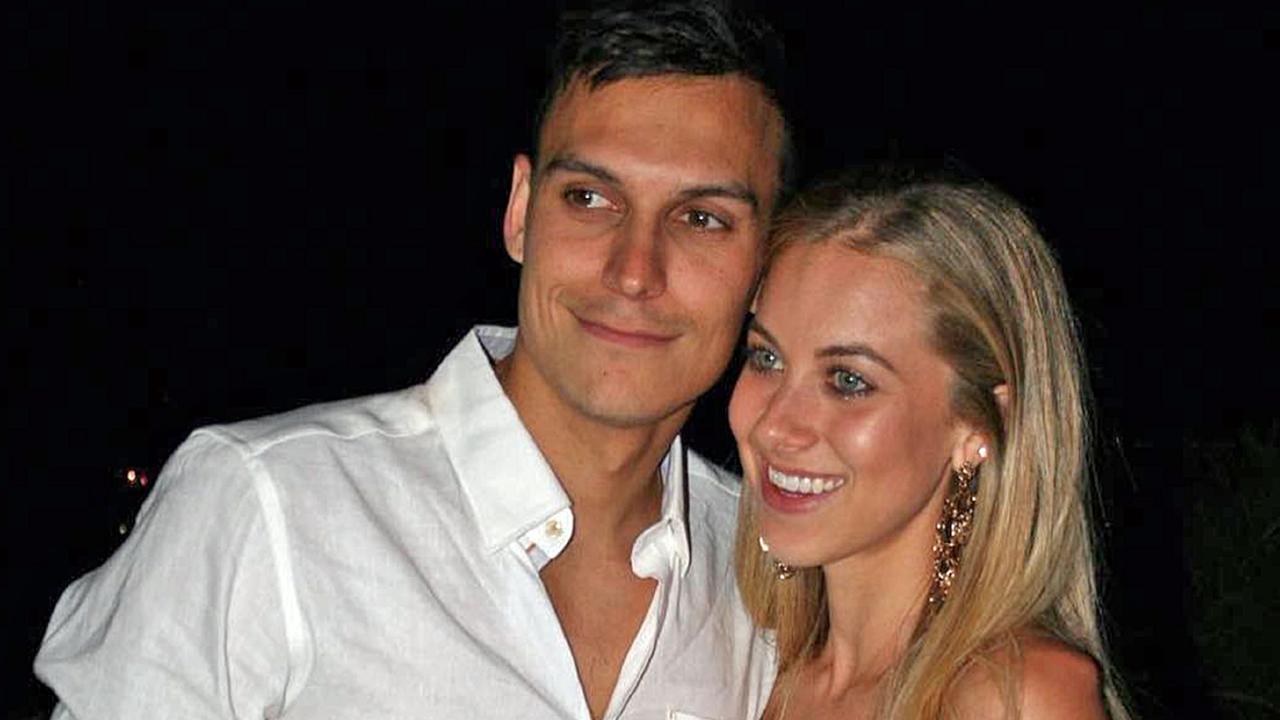 Trent Sainsbury and partner Elissa Sainsbury. Picture: Instagram